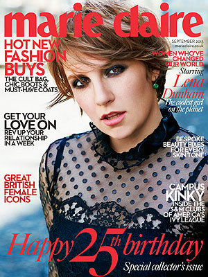 Lena Dunham Credits Parents for Healthy Body Image| Playboy, Girls, Lena Dunham