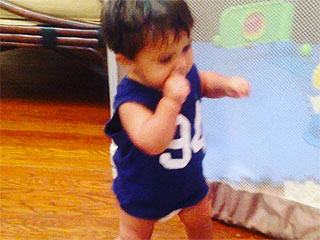 Watch Snooki's Son Take His First Steps