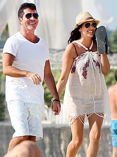 Simon Cowell Lauren Silverman Are Expecting a Boy