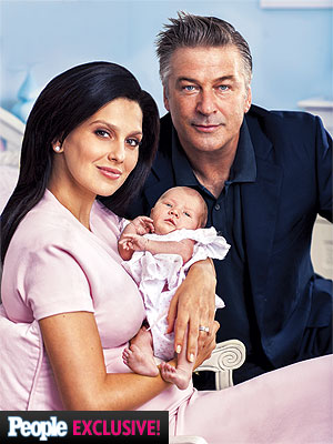 Alec Baldwin Carmen Gabriela First Photo