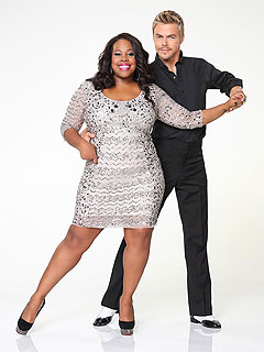 Teary-Eyed Amber Riley: DWTS Has Taught Me to Push My Limits | Amber Riley