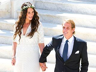 Monaco's Andrea Casiraghi Weds Tatiana Santo Domingo in Boho-Chic Ceremony