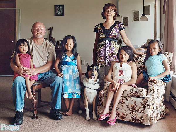 Cheryl and Keith Wyse Adopted Four Girls With Brittle Bone Disease