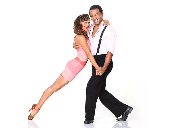 Corbin Bleu & Karina Smirnoff's Dancing with the Stars Blog: We Laugh Everyday