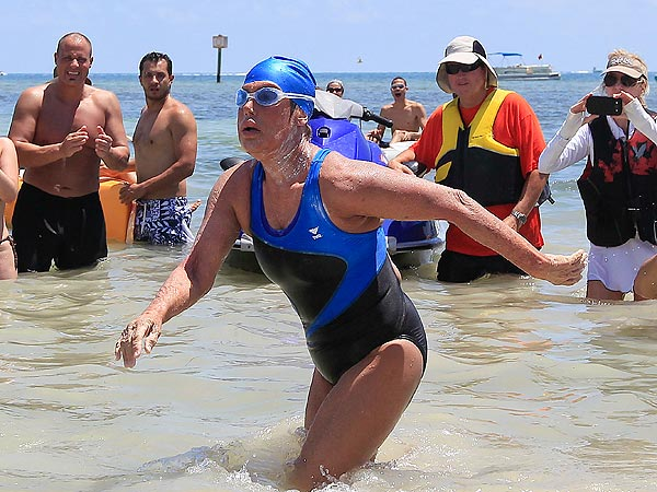 Diana Nyad Completes Historic Cuba-to-Florida Swim| Real People Stories, Diana Nyad