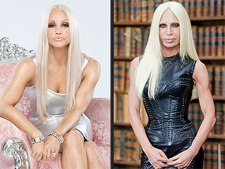 Whoa! Have You Seen Gina Gershon as Donatella Versace?