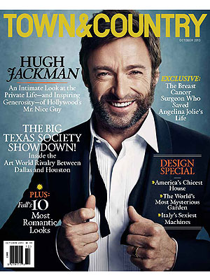 Hugh Jackman's Wife Reveals Just How She Likes Him| Good Deeds, Deborra-Lee Furness, Hugh Jackman
