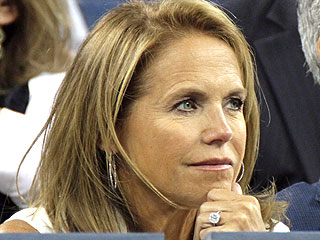 Katie Couric Flashes Her Engagement Ring at the U.S. Open | Katie Couric