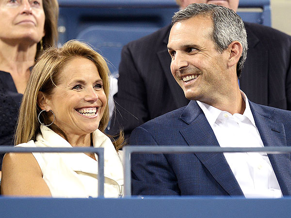 Katie Couric Flashes Her Engagement Ring at the U.S. Open| Couples, Engagements, Katie Couric