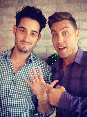 Lance Bass Engaged to Michael Turchin| Couples, Engagements, Lance Bass