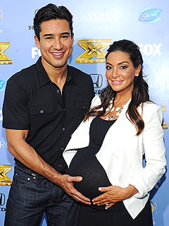 Mario Lopez Courtney Lopez Welcome Son Dominic