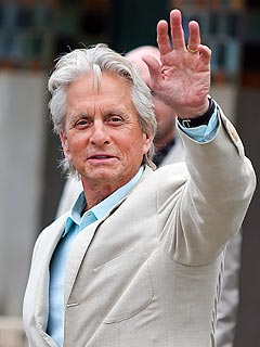 Michael Douglas Wears His Wedding Ring in France | Michael Douglas