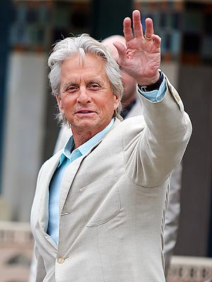 Michael Douglas Says 'Things Are Great' | Michael Douglas