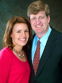 Patrick Kennedy to Be a Father Again