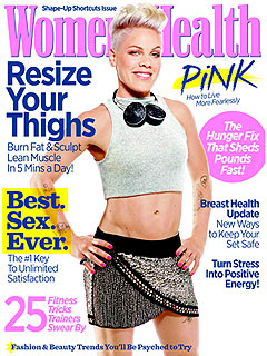 Pink Women's Health Cover