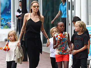 Koalas, Giraffes and ... Dugongs? The Jolie-Pitt Kids Explore Australia