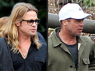 PHOTO: Brad Pitt Cuts His Hair! | Brad Pitt