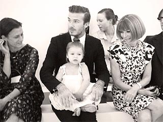 PHOTO: The Tiniest Beckham Makes Anna Wintour Smile | David Beckham