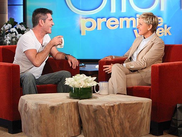 Simon Cowell Pregnancy Ellen DeGeneres