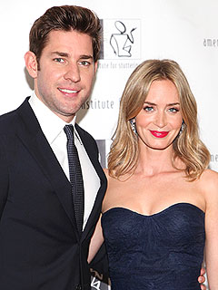 John Krasinski Emily Blunt Pregnant Expecting First Child