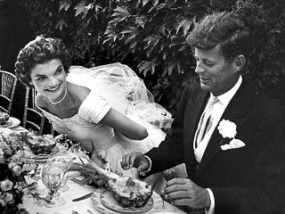 Happy 60th Anniversary: Relive JFK and Jackie's Wedding Day