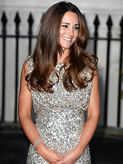 Kate Dazzles in First Big Night Out Since Giving Birth | Kate Middleton