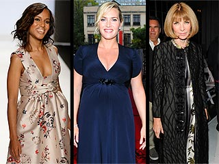 Kate Winslet's Bump vs. Anna Wintour's Smile – What Was the Best Accessory of the Weekend? | Anna Wintour, Kate Winslet, Kerry Washington