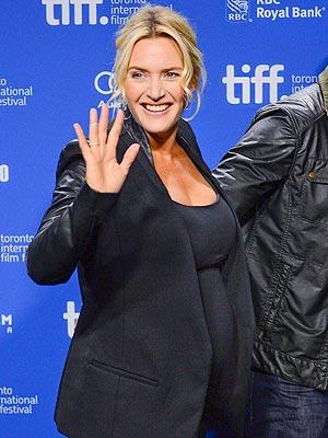 Kate Winslet Pregnant TIFF