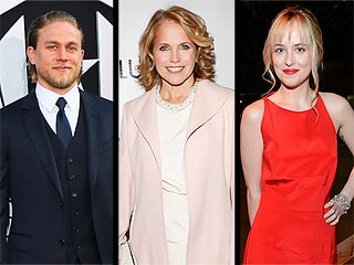 Katie Couric's Romance Scores, While Fifty Shades Casting Angers | Charlie Hunnam, Dakota Johnson, Katie Couric