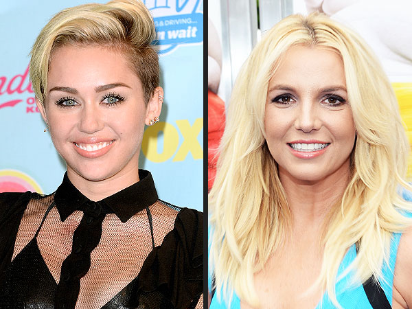 Miley Cyrus and Britney Spears Team Up on Upcoming Single