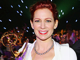 Carrie Preston Wins an Emmy, But Loses a Snack