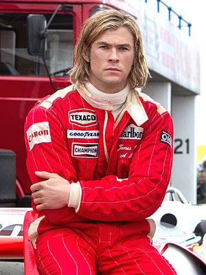 Chris Hemsworth Says Filming Nude Scenes for Rush Was 'Daunting'