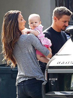Jeremy Renner Daughter Ava Berlin First Photo