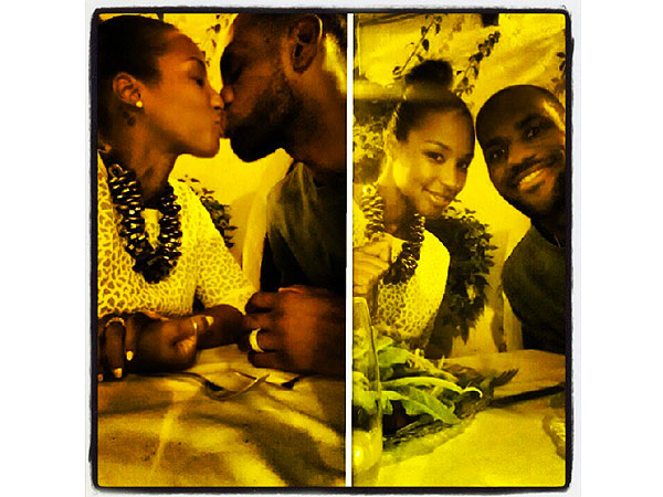 LeBron James and His New Bride Smooch in Cute Honeymoon Pics