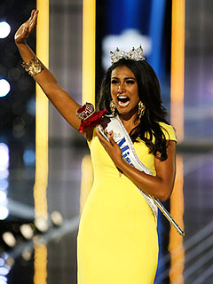 Nina Davuluri Becomes First Miss America of Indian Heritage