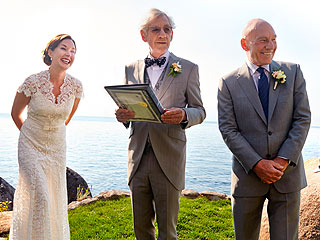 See Patrick Stewart and His Bride at Their Lake Tahoe Wedding