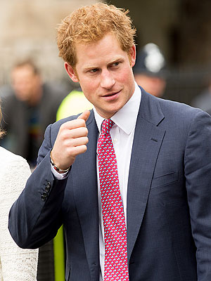 Prince Harry Steps Out for Cousin's Wedding in London