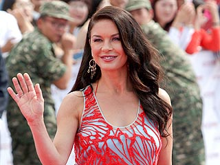 Catherine Zeta-Jones Hits the Red Carpet in China | Catherine Zeta-Jones
