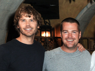 Chris O'Donnell Says Eric Christian Olsen Is Feeling the Effects of Daddy Duty