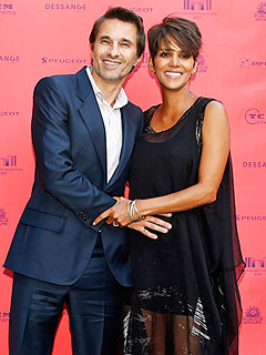 Halle Berry Olivier Martinez Welcome Son