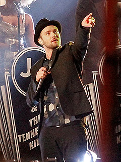 Timberlake Twofer: Rocks Kimmel, Has Hashtag Throwdown with Fallon