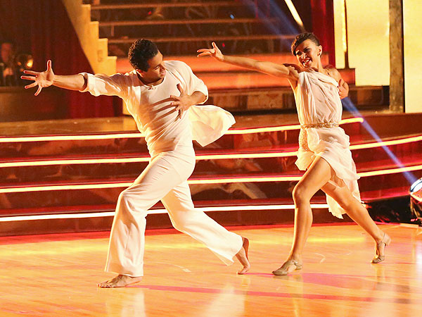 Corbin Bleu's DWTS Blog: Our 'Scandalous' Dance This Week