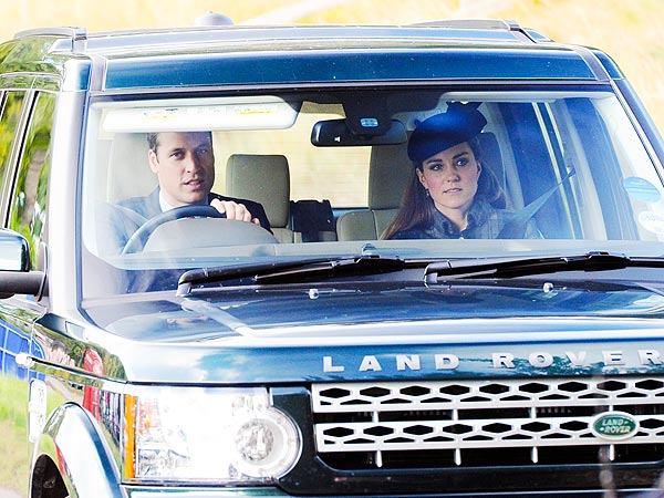 Prince William and Kate Help the Queen Entertain at Balmoral Castle