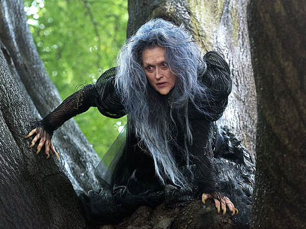 Meryl Streep Stars as The Witch in 'Into the Woods'
