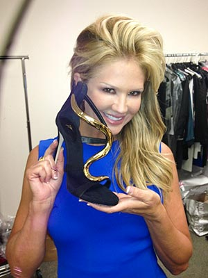 Nancy O'Dell's Emmy Blog: Fittings, Flats and the Perfect Bra