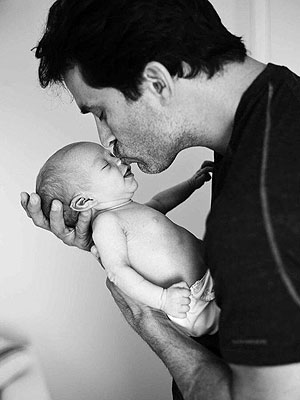 Johnathon Schaech Son Camden Quinn First Photo