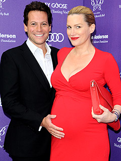 Ioan Gruffudd Alice Evans Welcome Daughter Elsie Marigold