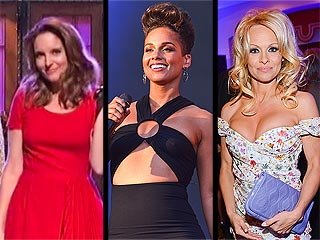 Tina Fey vs. Pamela Anderson: Who's Still Got It, Who's on the Run? | Alicia Keys, Pamela Anderson, Tina Fey
