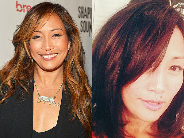 Carrie Ann Inaba haircut