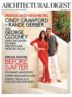 George Clooney, Rande Gerber & Cindy Crawford Show Off Their Adjoining Mexican Villas | Cindy Crawford, George Clooney, Rande Gerber